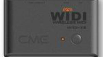 Drótnélküli MIDI a CME-től