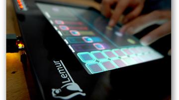 Lemur: MIDI-kontroller érintőképernyővel