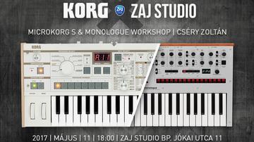 Korg workshop a Zaj Stúdióban