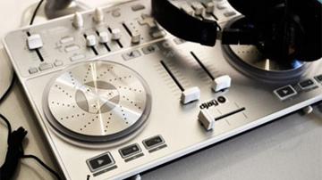 DJ kontroller az Apple boltjaiban