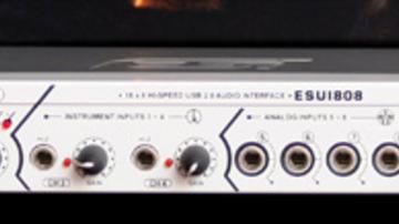 Tesztelünk - ESI Audio ESU1808 interfész