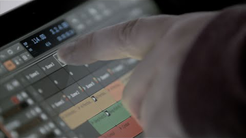 Multitouch a Bitwig