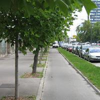 1. nap Ljubljana belvárosa, kerékpáros infra, majd le vonattal Riejkába
