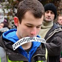 A Tömörkényesekkel tiltakoztak a MiértHallgatók