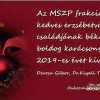 856. Karácsonyi köszöntő