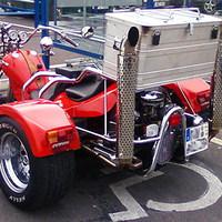 Mozgássérült motoros