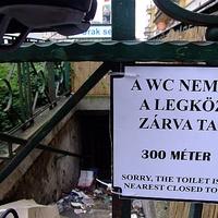 685. Ingyen vécét? Na ne!