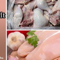 Import vs. hazai csirke