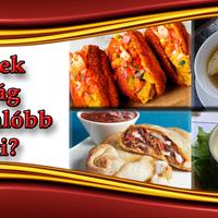 Melyek a világ leghizlalóbb ételei?