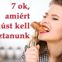 7 ok, amiért húst kell fogyasztanunk