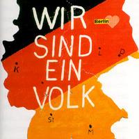"""Der Ostdeutsche sagt: """"Wir sind ein Volk!""""Der Westdeutsche sagt: """"Wir auch!"""""""