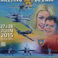 Gólyák, atombombázó fészekben - Nyílt nap - Base aérienne 116 Luxeuil Saint-Sauveur