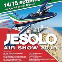 Hűs hullámok és szép repülések - Jesolo Air Show 2019