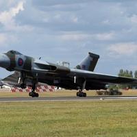 XH558 Avro Vulcan a Repülő Legenda