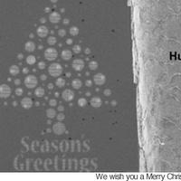 A világ legkisebb karácsonyi üdvözlete