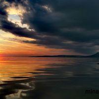 Ilyen nincs is! #balaton #balatoni_fotók #naplemente #fonyódliget #ősszelisbalaton
