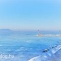 Már nagyon várjuk a hideget - mesés volt a tavalyi befagyott Balaton