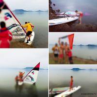 Ősi magyar hagyomány szerint, ha január elsején szörfözünk, egész évben jó lesz a szél. Jó lesz. ;-)