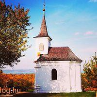Egy kis őszi napsütés a lellei #Szent_donát_kápolna környékén #chapel #balaton #balatoni_fotók
