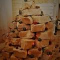Építkezők karácsonya - avagy karácsonyi dekorációk sittből