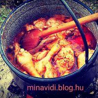 Madaras hetünk vasárnapi kedvence a csirke. Paprikásan. :-D #madaras_hét #ősszelisbalaton #balatoni_fotók
