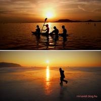 Nyári napforduló Fonyódon - a legbadacsonyibb naplemente