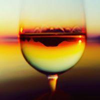 A bortól néha tótágast áll a világ. Vagy legalábbis a Badacsony... :-) #badacsony #bor #fonyódliget #balatoni_fotók #naplemente