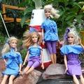 Zseniális gumikesztyű újrahasznosítás - Barbie divatbemutató