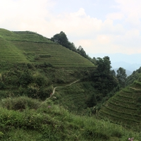 A szuperzöld Longsheng rizsteraszok - Kína