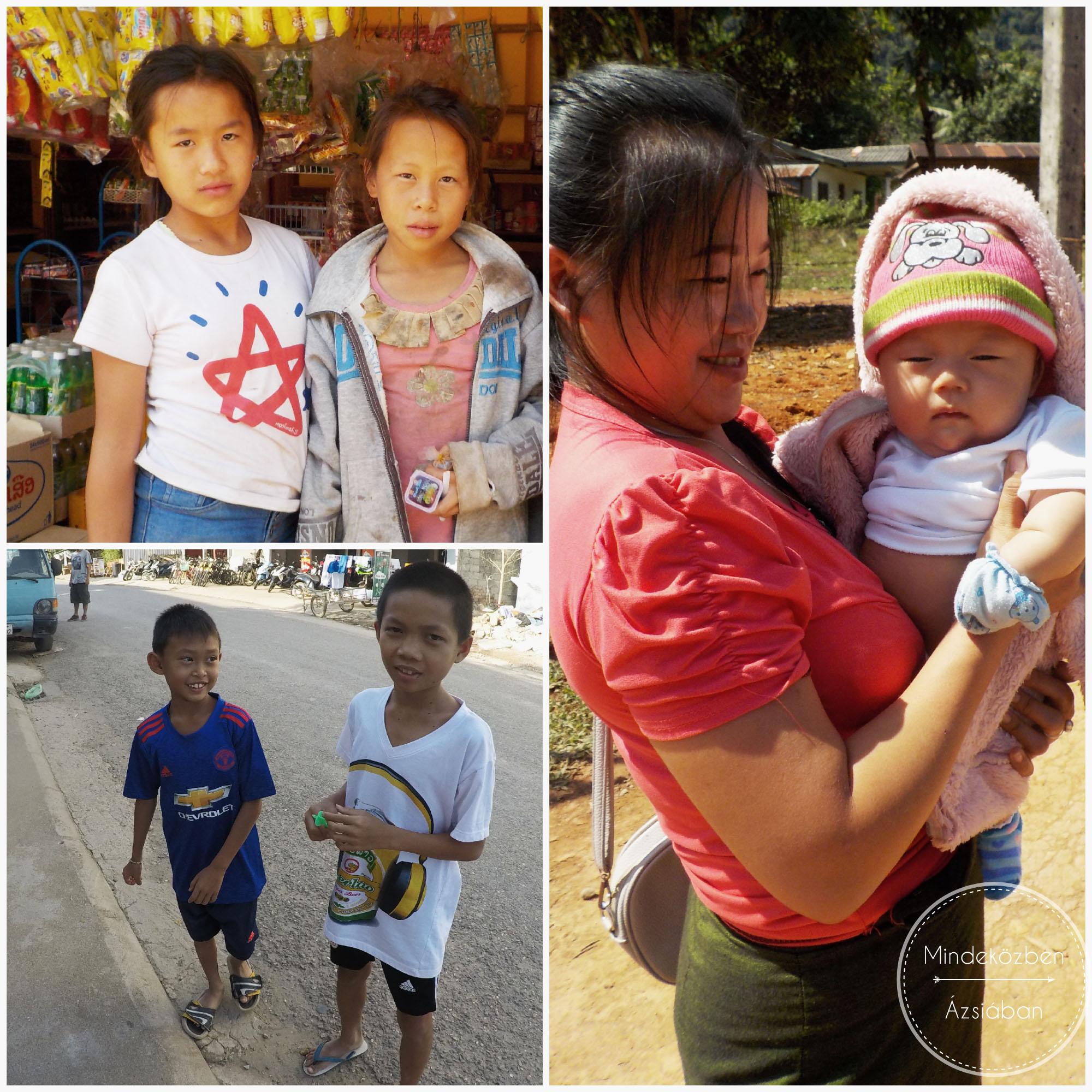 Laoszban annyira kedves mindenki!