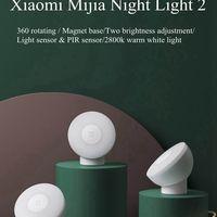 Xiaomi Mijia Night Light 2 - A Xiaomi bemutatta az éjszakai lámpájának új generációját!