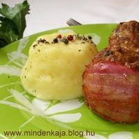 Zöldséges fasírt muffintepsiben