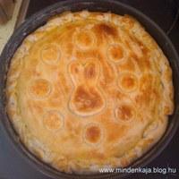 Húsvéti spenótos túrós pite
