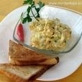 Parmezános tojáskrém chilivel