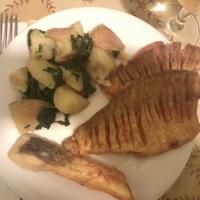 Sült hal újkrumplival