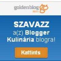 Goldenblog 2011- mi is neveztünk Gasztro kategoriában