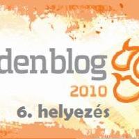 Köszönöm Goldenblog 2010