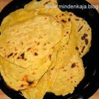 Kukoricás Tortilla
