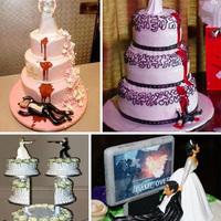 Az esküvői torta és az irónia találkozása