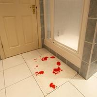 Véres fürdőszoba