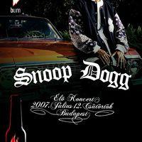 Snoop Dogg Budapesten