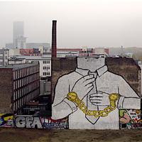 Blu Berlinben alkotott