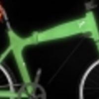 Sötétben világítós bringa