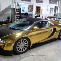 Bugatti Veyron színaranyból