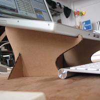 Csináldmagad laptopállvány