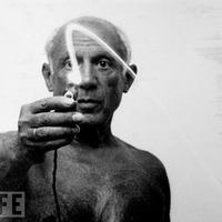 Picasso fényfestése