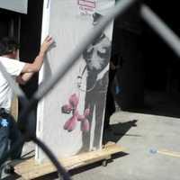 Banksy a street art celeb