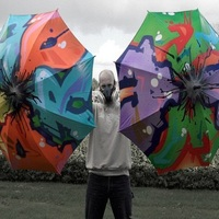 Graffiti Umbrellas