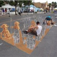 LEGO agyaghadsereg street art