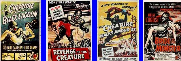 horror poszter, retro plakát